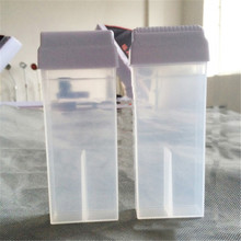 100ml Empty Hair Removal Wax Bottle Transparent Reusable Roller Depilatory For E