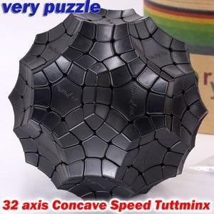 Image 2 - Puzzle Magic Cube VeryPuzzle 32 axis Concave Speed Tuttminx strange shape cube professional educational logic twist game cubo