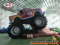 Giant Inflatable Monster Truck Inflatable Combo Jumper