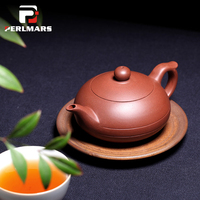 120ML Authentic Yixing Teapot Fly Dragon Pot Purple Clay Master Handmade Chinese Healthy Kung Fu Tea Set Pottery Vintage Teaware