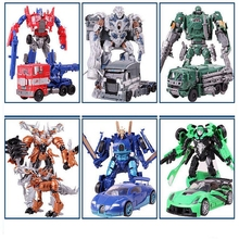 New Alloy transformation 4 Toys font b Robot b font font b Car b font Anime