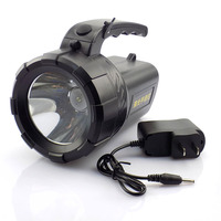 Protable Led Flashlight Rechargeable Hand Searching Light Flash Lamp Torch Night Working Camping Long Range Lanterna
