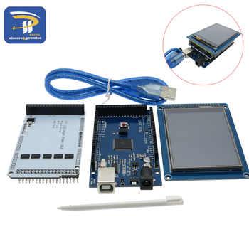 """3.2 \""""TFT 液晶タッチ + TFT 3.2 インチシールド + メガ 2560 R3 のための usb ケーブルキット - DISCOUNT ITEM  12% OFF 電子部品 & 用品"""