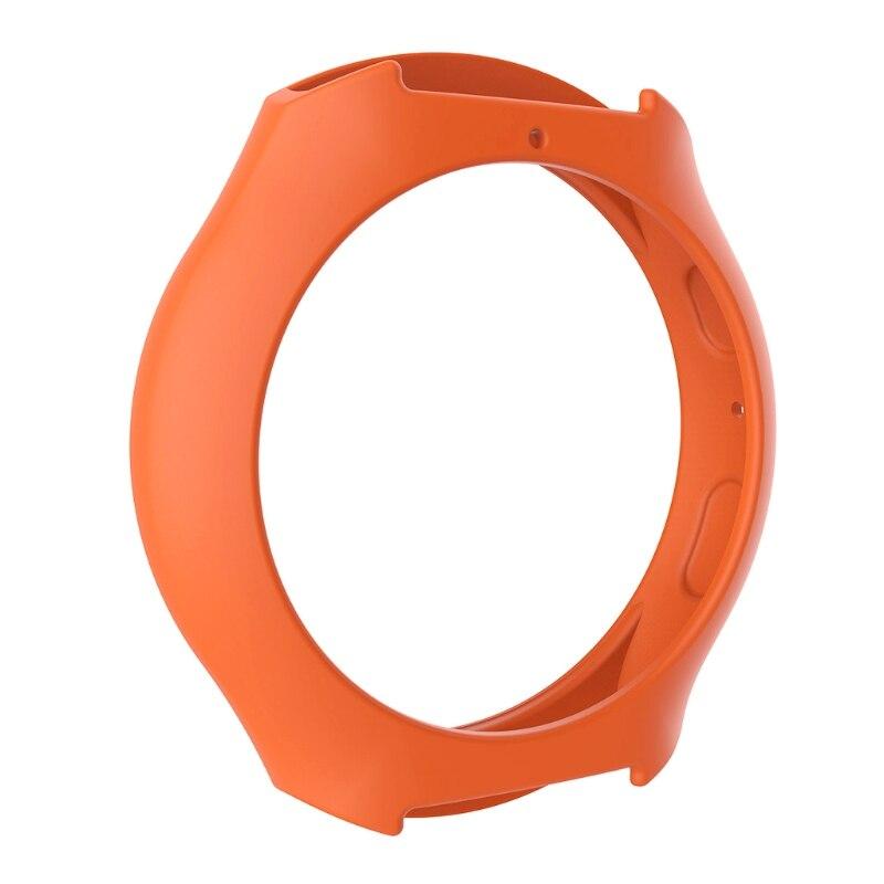 Мягкий силиконовый защитный чехол для SamsungGalaxy gear S2 SM-R720 и SM-R730 - Цвет: O
