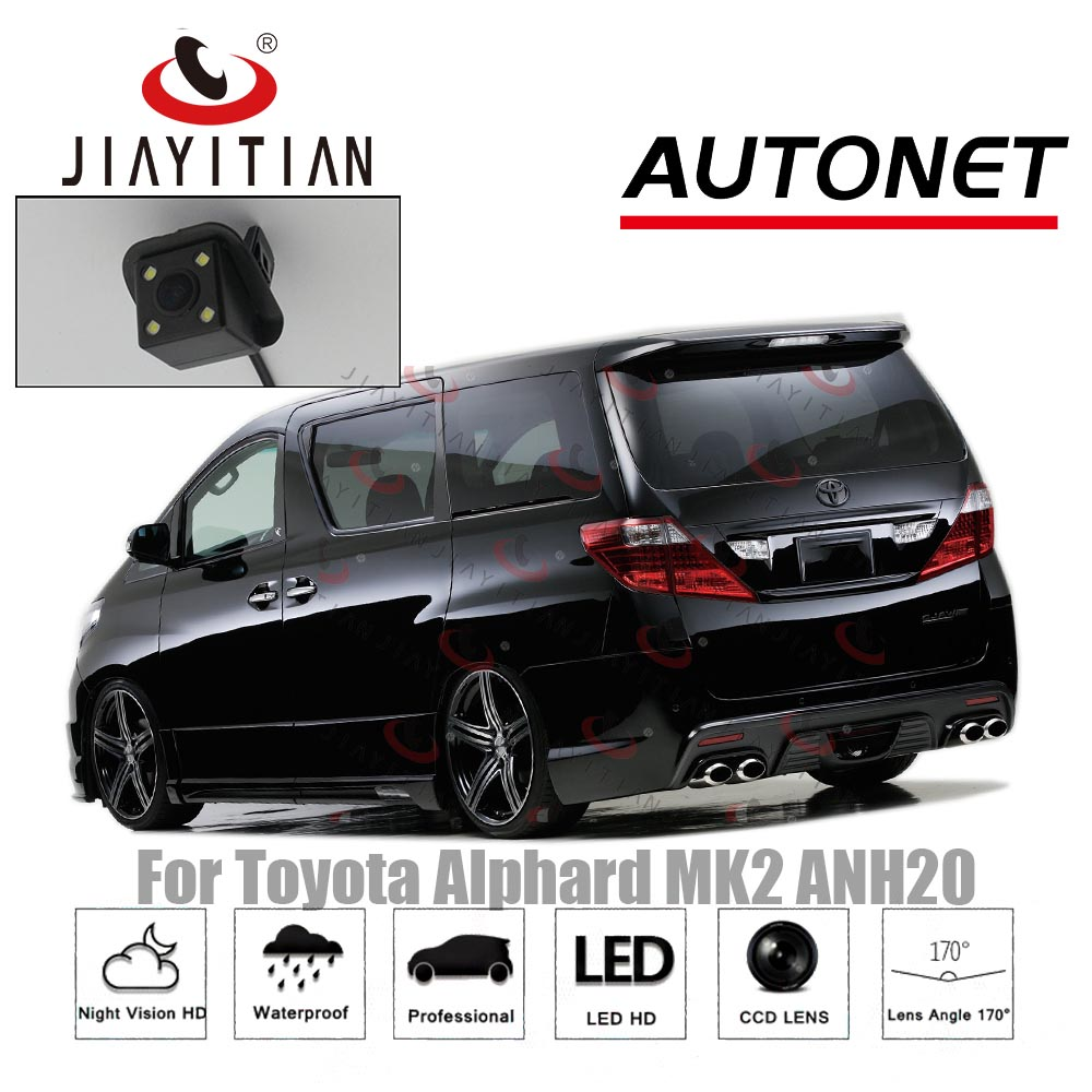 JIAYITIAN Автомобильная камера заднего вида для Toyota Alphard 2 ANH20 CCD/ночного видения резервная камера парковочная камера резервная камера