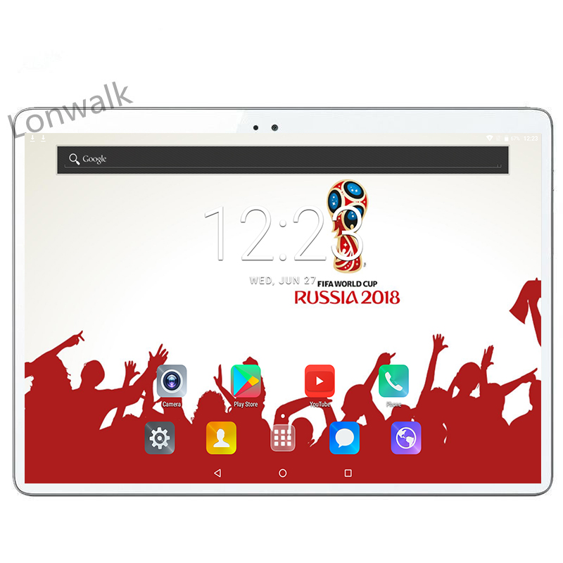 Tablet 10 Inch 1920*1200 10 Core Android 7.0 4gb Ram 64gb Rom Dual Sim Card Gps Bluetooth Call Phone Gifts Mid Tablets 10 10.1