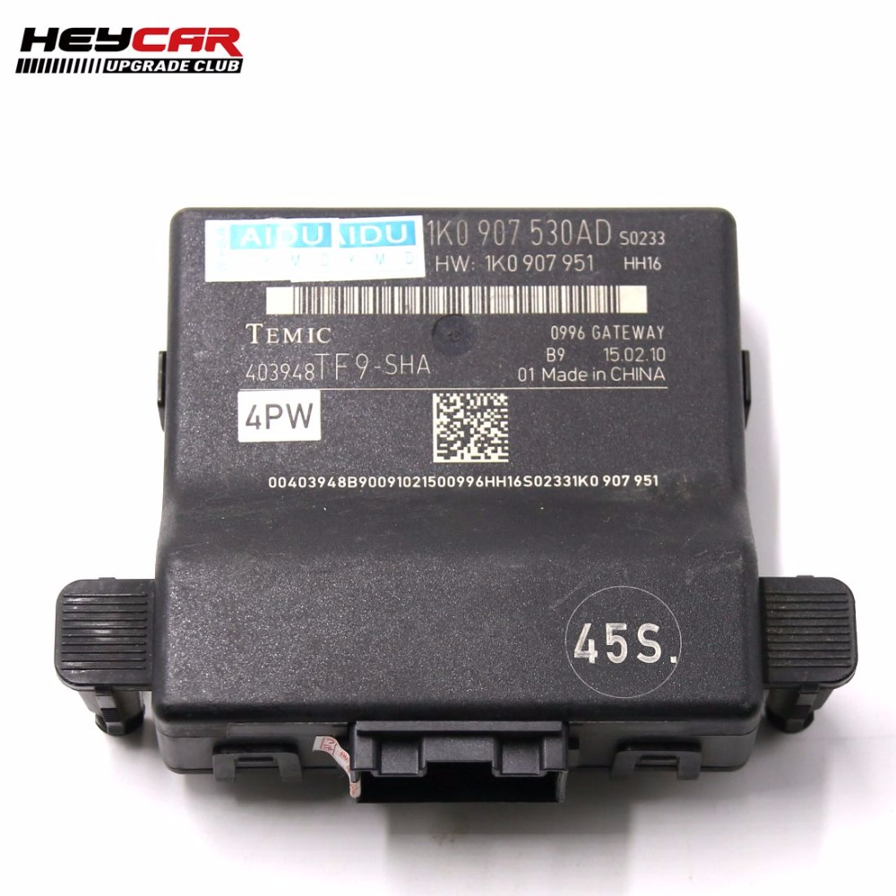 Canbus Gateway 1K0 907 530 AD 1K0907530AD For Solving Install RCD510 RCD330 Battery Discharge Problem GOLF
