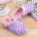 Summer Woman Mule Clogs Light Candy Color Garden Shoes For Women Beach Slippers Woman Shoes 36-40