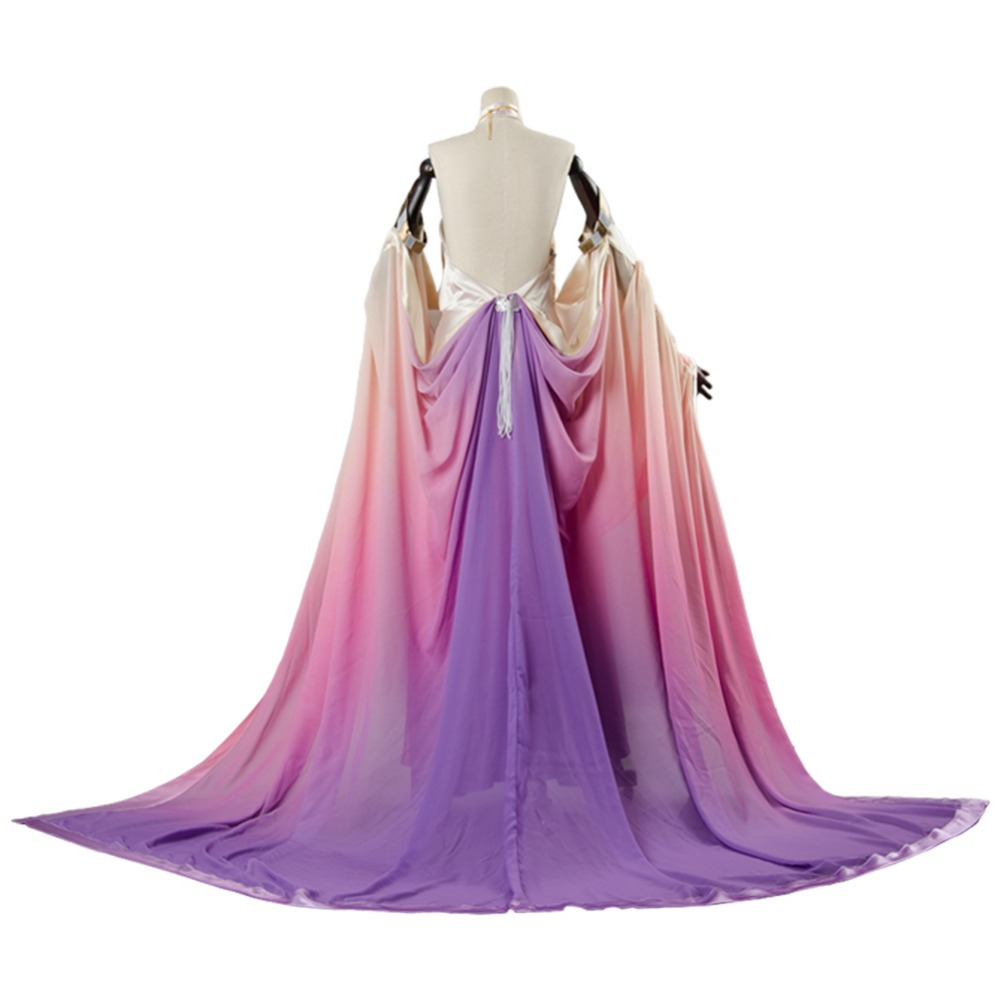 Aliexpress.com: Comprar Star Wars Padmé Amidala Cosplay traje largo ...