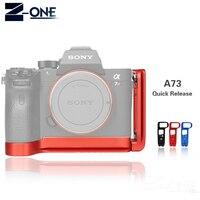 A7M3 Quick Release Plate L/Bracket Holder hand Grip voor Sony A7III/A7RIII/A9 Quick Release Grondplaat & side plaat