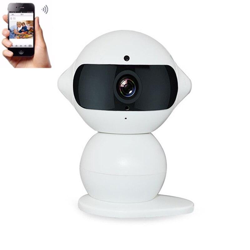 10pcs/Lot WIFI IP Camera 960P Wireless Mini Robot Camera P2P APP Night Vision Home Security Baby Camera