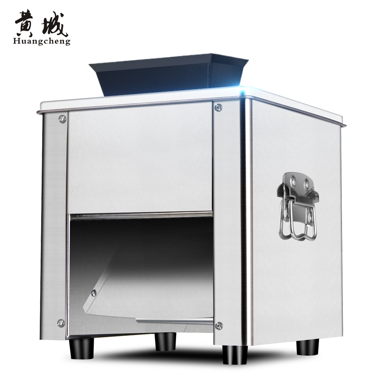 Электрический мясо машины из нержавеющей стали ломтик растрепанные полностью автоматическая дома разминание кубиками с машина коммерческих мясорубку