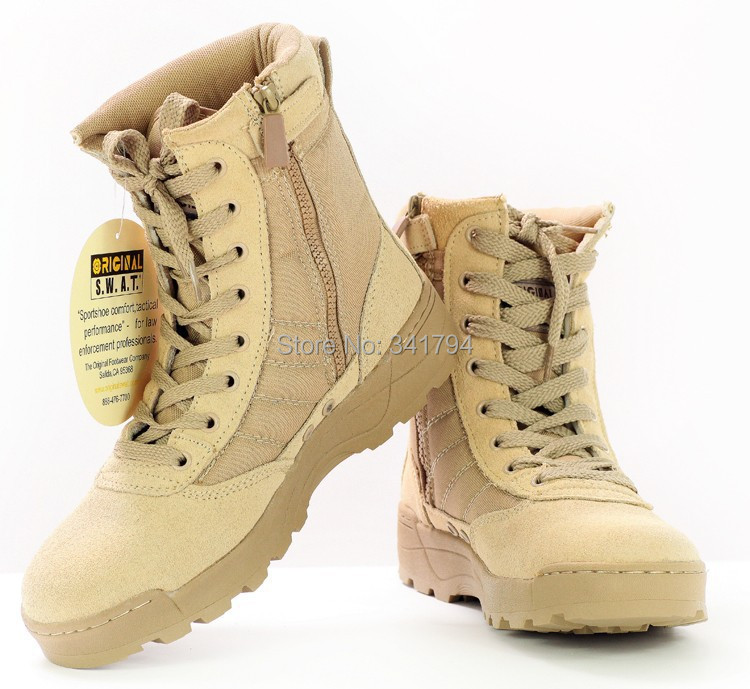 High Quality 511 U.S. Military Desert Boots Police Boots