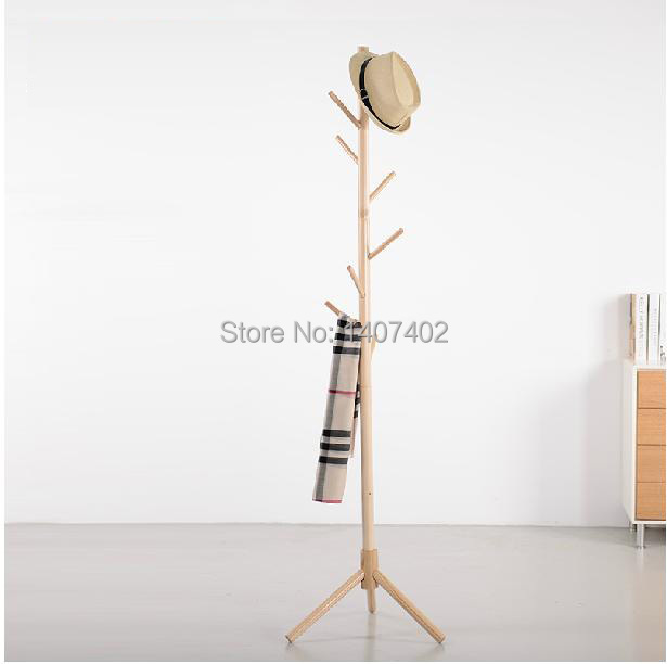 solid wood floor coat rack clothes hanger rack bedroom summary fashion clothes hanging clothes rack ikea