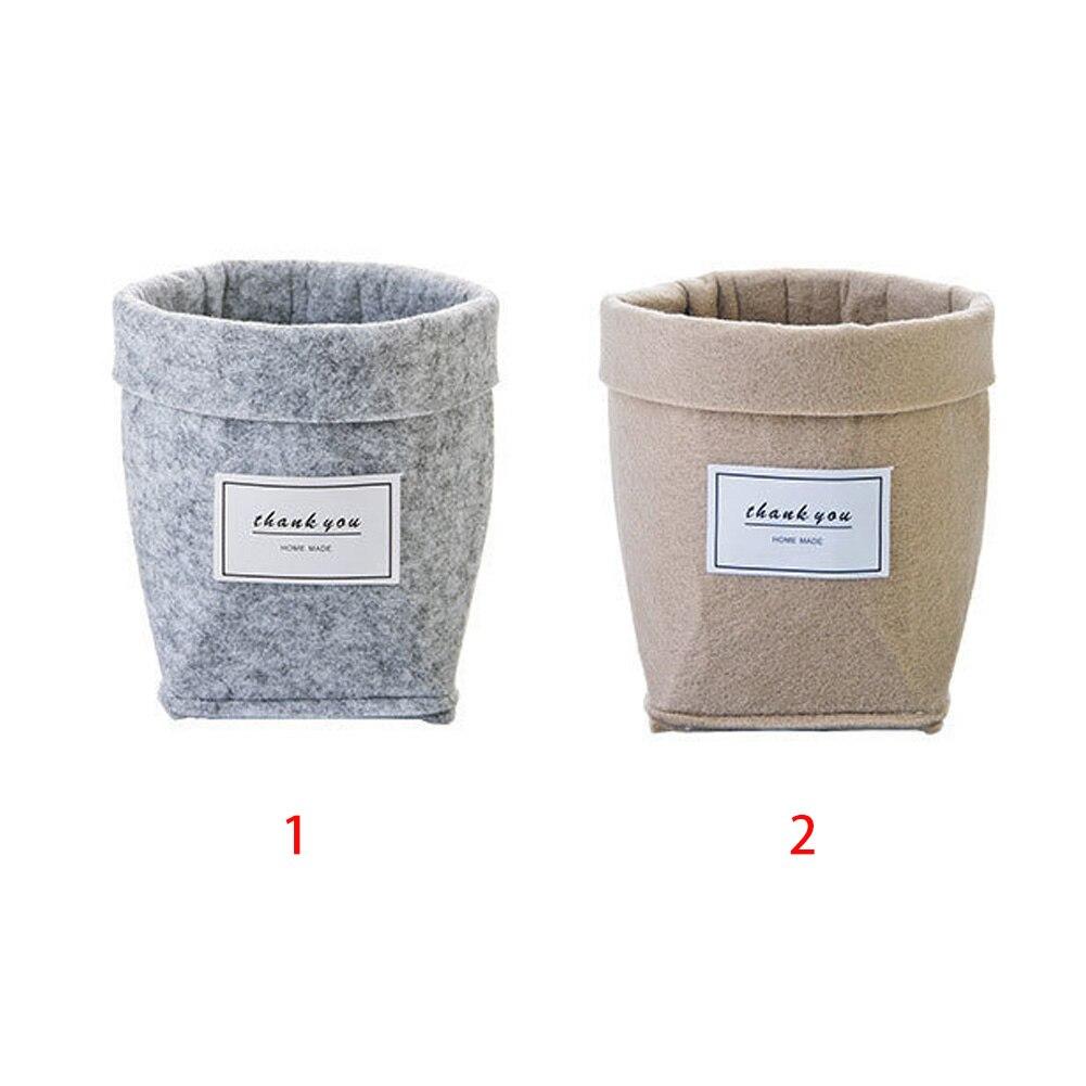 HTB1Es93XK6sK1RjSsrbxh4bDXXay - Plant Grow Bag New Home Decorations Desktop Flower Basket Fleshy Pot
