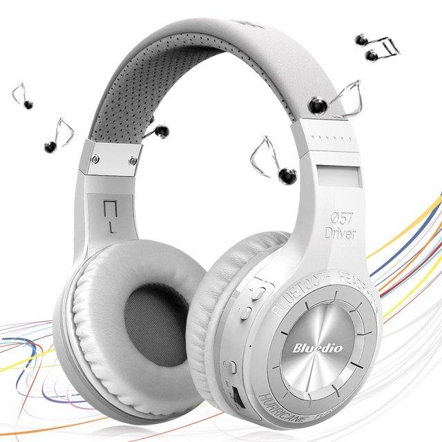 Bluedio ht h-turbina de marca auricular estéreo inalámbrico auriculares bluetooth auriculares con micrófono para el iphone de la tableta del teléfono pc