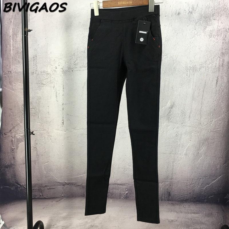 2018 Høst Ny Koreansk Fall Dame Skrap Silm Skinny Jeans Leggings - Kvinneklær - Bilde 6