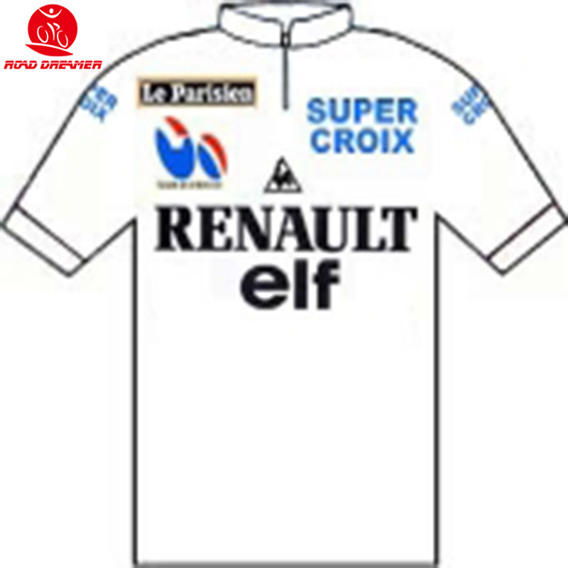 2f43cb0dc Detail Feedback Questions about Tour de France 1984 white RENAULT old style cycling  jersey Short sleeved clothes Summer mtb Bicycle jersey Ropa ciclismo ...
