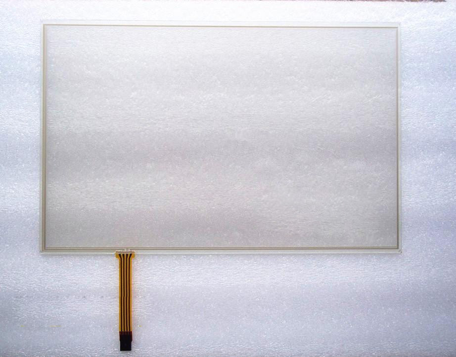 ФОТО 15.4 Inch  16:10  4 Wire Resistive Touch Screen Panel Glass 344mm*222mm 344*223mm