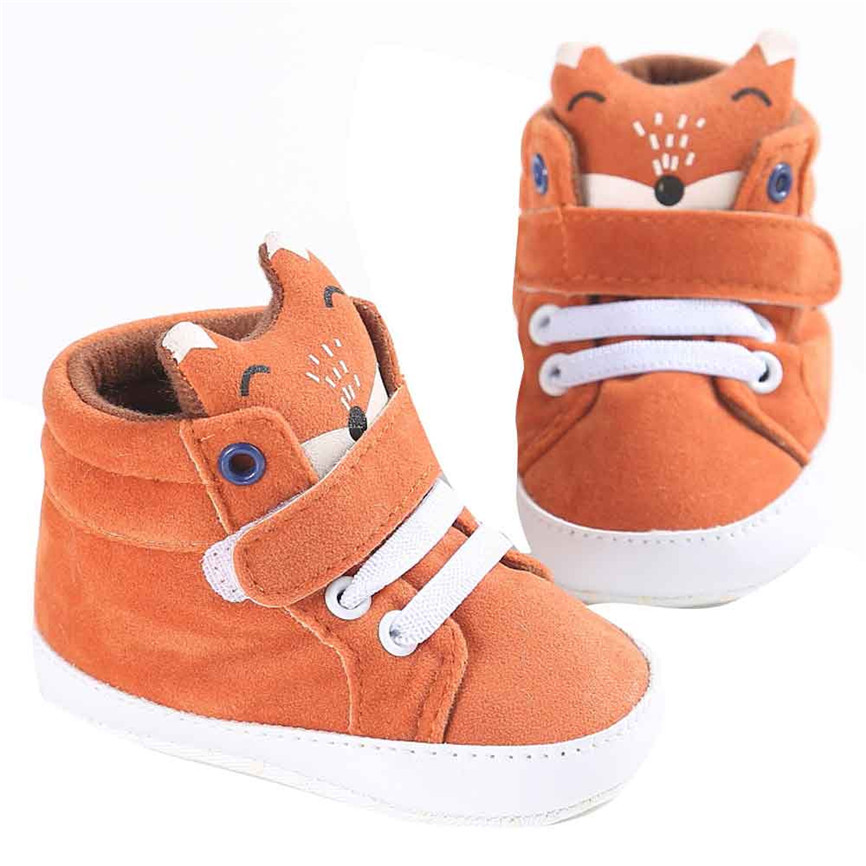 Newborn Baby Soft Sole Crib Shoes Infant Boy Girl Toddler Sneaker Anti-Slip Shoe
