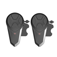 1000M BT S3 Helmet Intercom Headset Motorcycle Bluetooth Interphone Handsfree FM Radio Waterproof BT Intercom 5 languages Manu