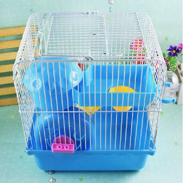 Buy 2017 villa cage for hamsters super for Plastic bin guinea pig cage
