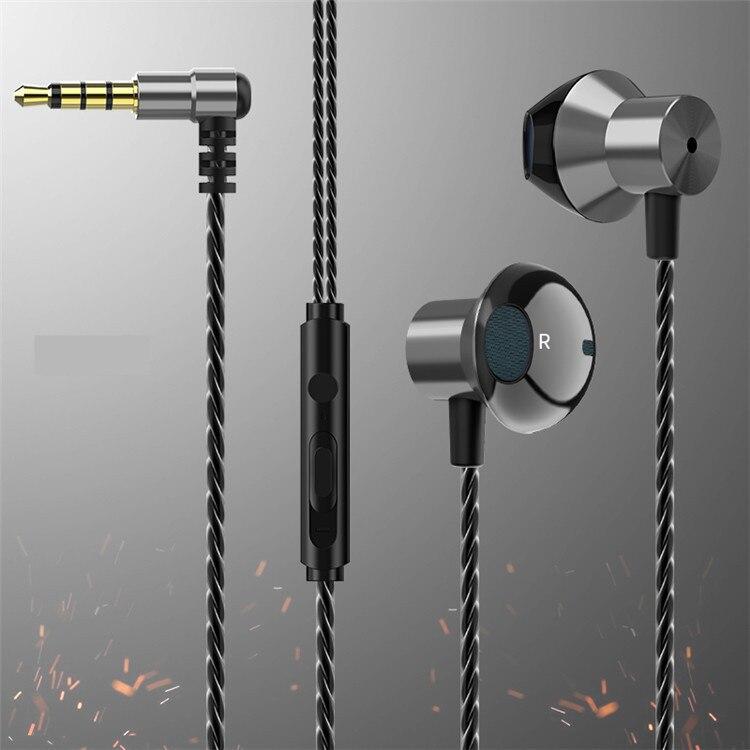 3.5 milímetros Fone de Ouvido Com Fio Estéreo Controle de Esportes Jogo De Música Fones de ouvido Fones De Ouvido Com Microfone Fones de Ouvido Para Xiaomi Huawei Samsung sh *