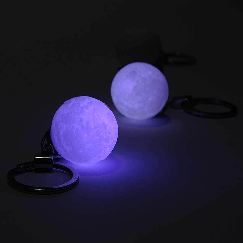 3D Printing Night Light Keychain Moonlight LED Magical Lamp Lighting Decoration Gift  QJ888