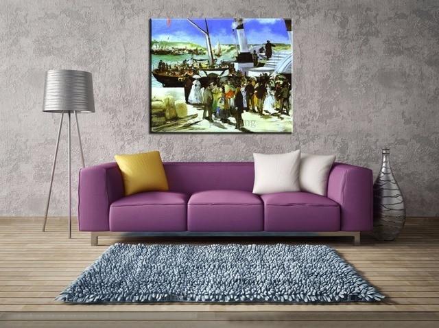 Dekorative Bilder Wohnzimmer ~ Handgemachte abstrakte klassische dekorative wohnzimmer