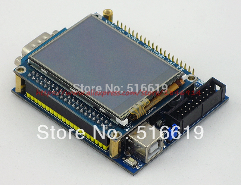 STM32 Development Board MINI + 2.4 Inch Touch Screen -uCOS/uCGUI/ Far More Than 51 AVR Microcontroller