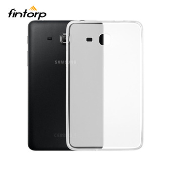 Transparent Case For Samsung Galaxy Tab A 7.0 2016 A6 T280 T285 SM-T280 SM-T285 7.0 inch Soft TPU Clear Ultra-thin Cases Covers for samsung galaxy tab a 7 0 t280 sm t280 t280n t285 high quality ultra slim silk 3 fold transparent cover stand pu leather case