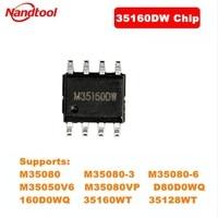 Xhorse-Chip 35160DW No necesita punto rojo, simulador de trabajo con programador de clave de VVDI Prog, compatible con 35160WT, M35080, etc.