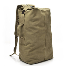 Outdoor Travelling Canvas Outdoor Bags Hiking Camping Storage Bag Backpack Bags Men Women Travel Shoulders Mountaineering