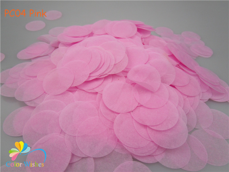 1kg/lot 1inch=2.5cm Taupe Round Tissue Paper Party Confetti Throwing Graduation Wedding Table Decorations