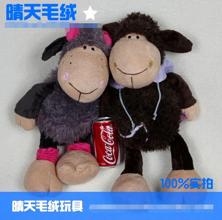 Sale Discount ! NICI plush toy stuffed doll cartoon animal Jolly Mah Dolly sheep friend lamb kid bedtime story birthday gift 1pc