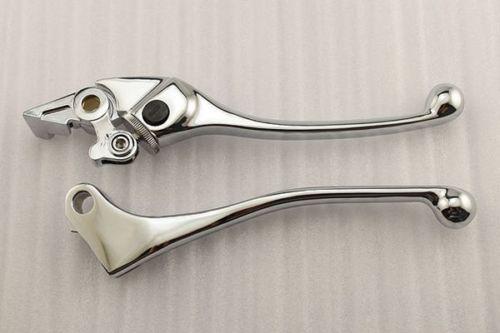 Chrome Brake Clutch Levers For Honda CBR 600F 600F2 600F3 600F4 600F4i CBR 900RR 9 color cnc brake clutch levers blade for 2000 2001 honda cbr929rr cbr 929 rr
