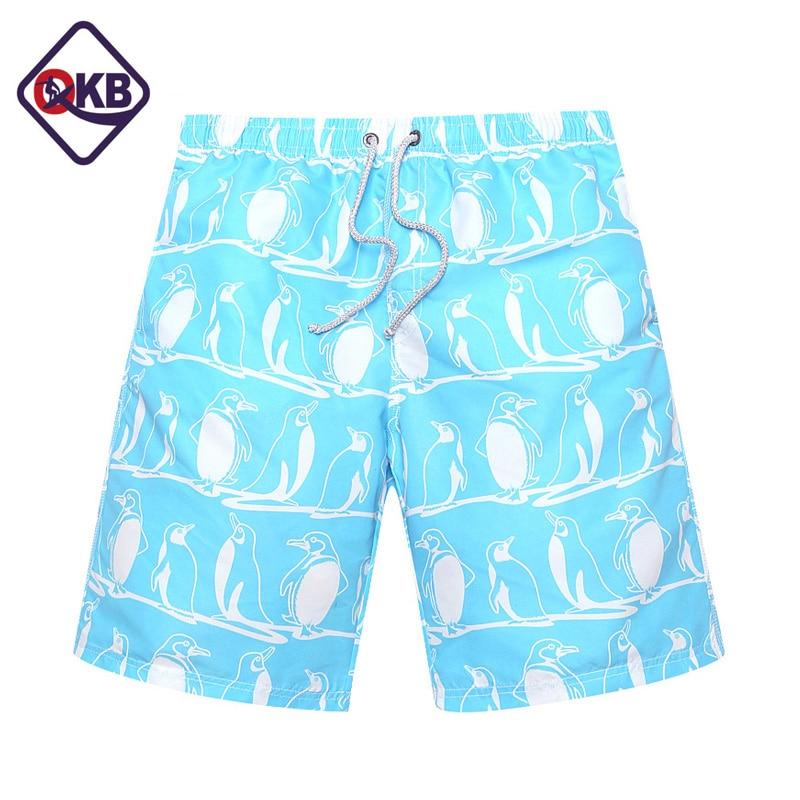 QIKERBONG Shorts de playa para hombre Bañador de boxeo Troncos - Ropa de hombre