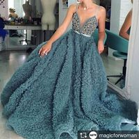 Newest Sexy Civil Rustic Blue Ball Gown Wedding Bridal Dress Gowns Cloud For Pregnant Bride Dresses