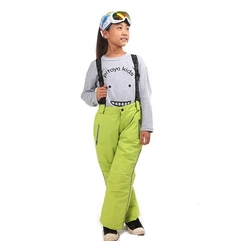 Prix pour Enfants en plein air Ski Pantalon Imperméable Pantalon de Ski de Haute Qualité Snowboard Pantalon Pour Enfants Gilrs Garçons D'hiver