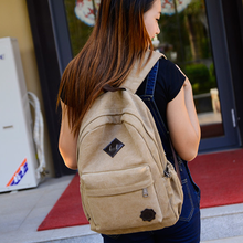 HOT Canvas School Backpack for Teenage Girls Boys Outdoor Sports Mountain Climbing Cycling Bags Laptop Rucksack Mochila