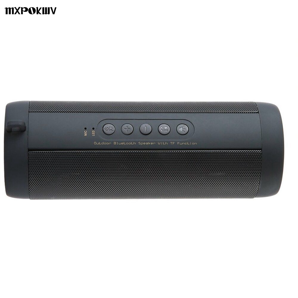 Stereo Hi-Fi Boxes Portable Outdoor Louderspeaker Waterproof Sport Bluetooth Speaker Support TF card FM Radio Super Bass T2 stereo mobile phone system waterproof for shower 10w bt4 0 super bass hi fi hands bluetooth speaker