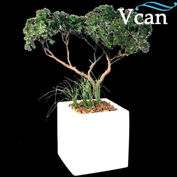 Бесплатная доставка Очень хороший пульт дистанционного управления Водонепроницаемый светодиодный цветочный горшок для сада VC C3030