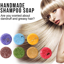 7 types PURC Organic Shampoo Soap Vegan Handmade Cold Processed Refreshing Anti-Dandruff Hair Shampoo