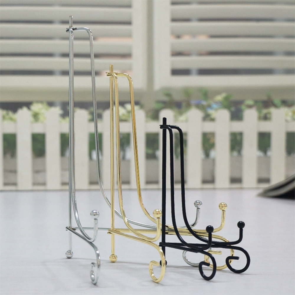 Iron Easel Display Stand Bowl Picture Plate Frame Firm Artwork Practical 6  10  CYF9112-in Hooks u0026 Rails from Home u0026 Garden on Aliexpress.com | Alibaba ...  sc 1 st  AliExpress.com & Iron Easel Display Stand Bowl Picture Plate Frame Firm Artwork ...