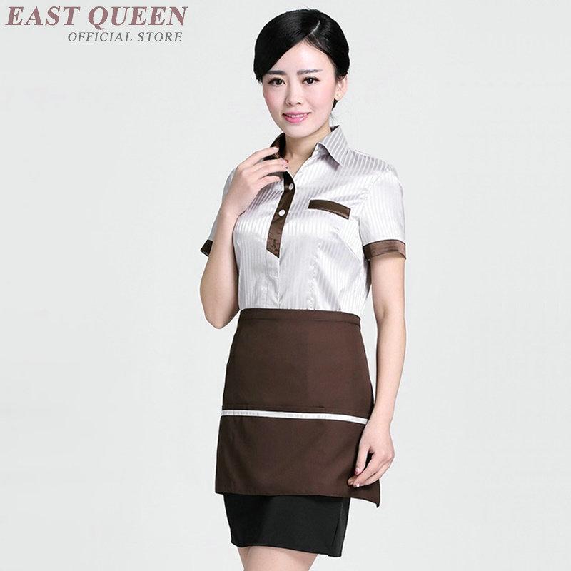 Waiter And Waitress Uniforms Clothing Restaurant Waitress Uniforms For Waiters Catering Kitchen Clothing Hotel Uniform DD1125
