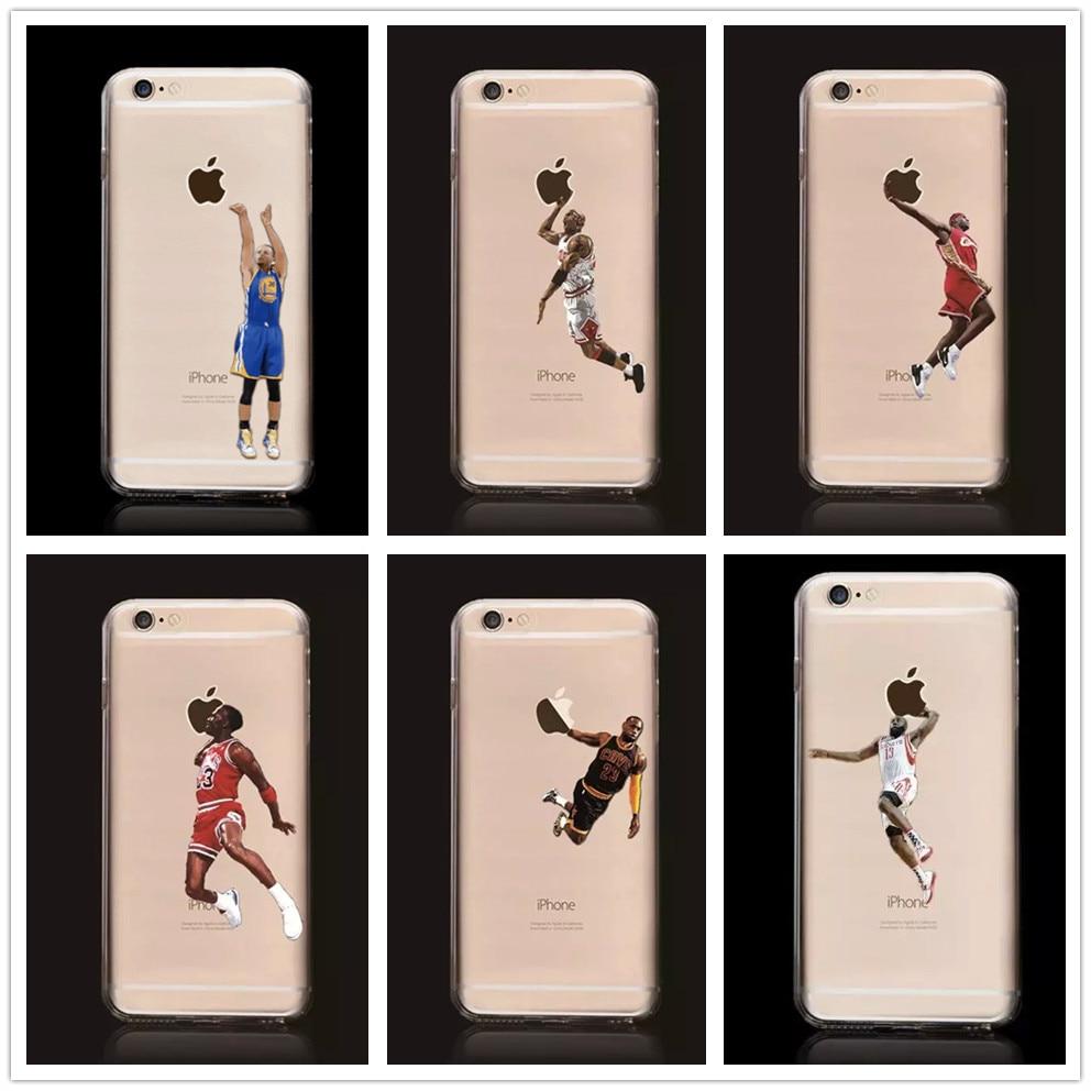 New Hot Ultrathin Kobe Bryant Stephen Curry Michael Jordan LeBron James Basketball Hard Plastic Back Cover Case for iPhone 5 5s