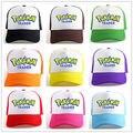 Moda 2016 Novo Pokemon Ir Equipe Cap Chapéu Da Equipe Da Equipe de Valor Místico Instinto Treinador Pokemon Cap Hat 12 Cores