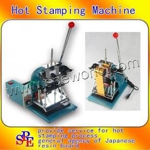 DJ1810 Горячее тиснение машина горячего тиснения для ПВХ карты члена клуба горячей фольги штамповки бронзовая машина дерево ремесло