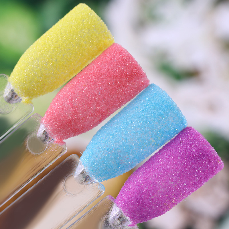 1.5g Pearlescent Glitter Powder Shinning Red Yellow Blue Purple Nail Art Dust Manicure Tips Decoration
