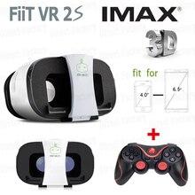 ใหม่FIIT VR 2วินาทีความจริงเสมือนแว่นตา3Dของg oogleกระดาษแข็งvrกล่องvrสวนoculos +ไร้สายบลูทูธตัวควบคุมเกมgamepad